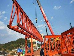 湖南衡阳架桥机公司有新型双向架桥机