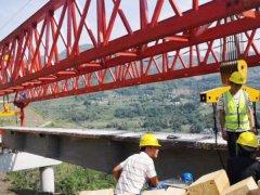 山东德州单导梁架桥机厂家坚持安全生产方针